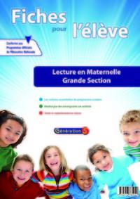 Lecture ; Grande Section ; Fiches Pour L'eleve