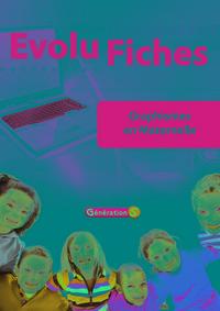 Evolu Fiches : Graphismes En Maternelle (fichier Papier + Cederom)