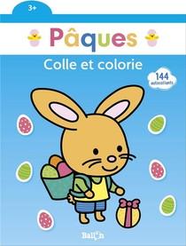 Paques ; Colle Et Colorie