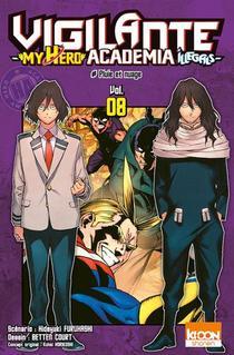 Vigilante - My Hero Academia Illegals T.8 ; Pluie Et Nuage