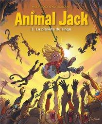 Animal Jack T.3 ; La Planete Du Singe