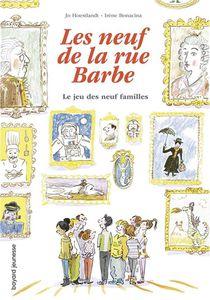 Les Neuf De La Rue Barbe T.3 ; Le Jeu Des Neuf Familles