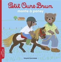 Petit Ours Brun Monte A Poney