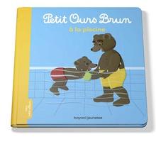 Petit Ours Brun A La Piscine