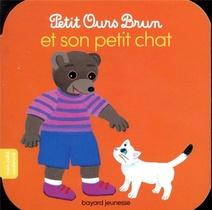 Petit Ours Brun Et Son Petit Chat