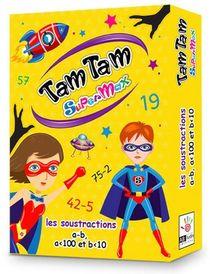 Tam Tam Supermax ; Les Soustractions ; A-b, A<100 Et B<10