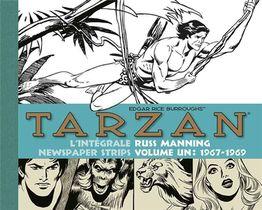 Tarzan - Newspaper Strips ; Integrale Vol.1 ; 1967-1969