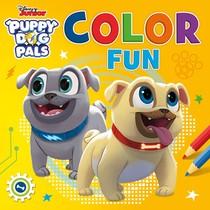 Disney Color Fun Puppy Dog Pals