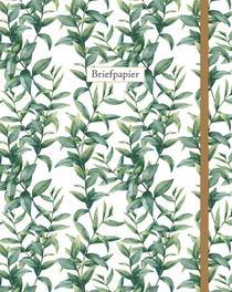 Briefpapier leaves