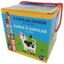 Stapelblokken - De boerderij (+ 12 m) / Cubes à empiler - La ferme (+ 12 m)