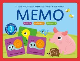 Memo Eerste woordjes-Dieren / Memo Premiers mots-Animaux