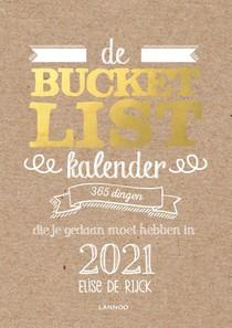 De Bucketlist scheurkalender 2021