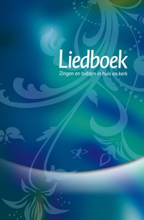 Liedboek blauw/groen