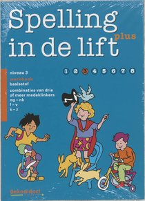 Spelling in de lift Plus Niveau 3 5 ex Werkboek