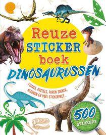 Reuzestickerboek Dinosaurussen