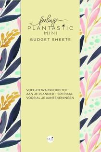 Budget sheets MINI - Feeling Plantastic