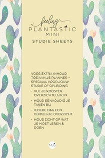 Feeling Plantastic mini Studie Sheets