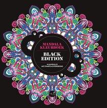 Het enige echte mandalakleurboek BLACK EDITION