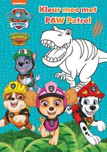 Kleur mee met Paw Patrol - Dino Rescue
