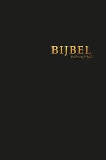 Bijbel (HSV) met psalmen - hardcover zwart