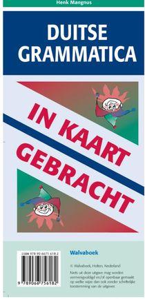 Duitse grammatica in kaart gebracht