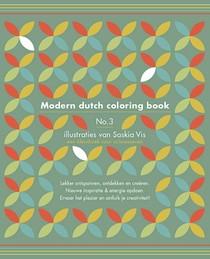 Modern dutch coloring book 3