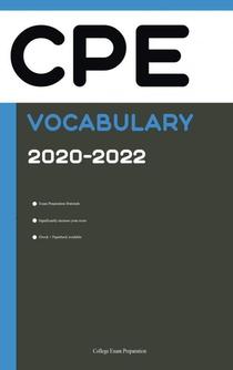 CPE Vocabulary [English Proficiency Vocabulary] 2020 Edition