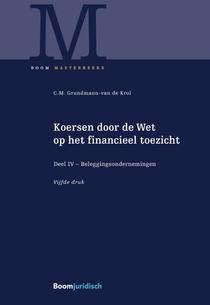 Koersen door de Wet op het financieel toezicht deel IV Beleggingsondernemingen