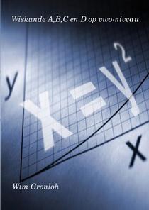 Wiskunde A,B,C en D op vwo-niveau