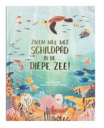 Zwem mee met schildpad in de diepe zee!
