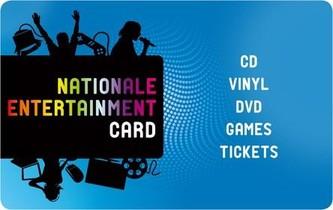 Entertainment Card - 25 euro
