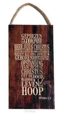 Geprezen Zij God Kruis 1petrus 1:3
