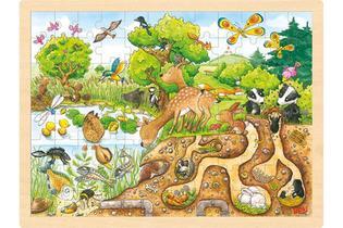 Goki Puzzel - Ontdek de natuur