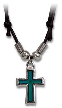 Hanger Kruis Aan Koord Verkleurend
