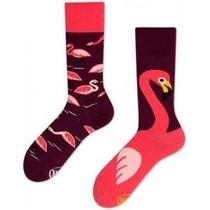 Sokken - Pink Flamingo - Maat 39-42