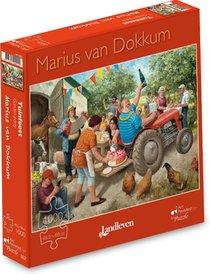Marius van Dokkum - Tuinfeest  -  Puzzel 1000 stukjes
