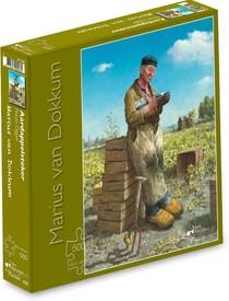 Marius van Dokkum - Aardappelsteker  - Puzzel 500 stukjes