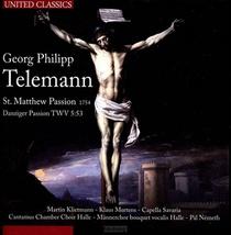 St. Matthew Passion (telemann / 1754)