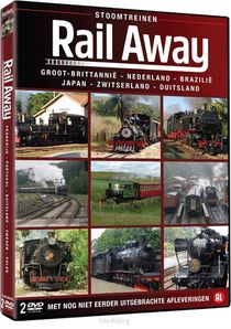 Rail Away - Stoomtreinen (2dvd-box)