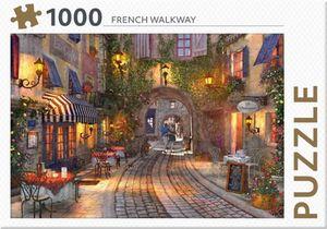 Rebo legpuzzel 1000 stukjes - French Walkway