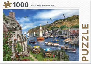 Rebo legpuzzel 1000 stukjes - Village Harbour