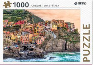 Rebo legpuzzel 1000 stukjes - Cinque Terre Italy