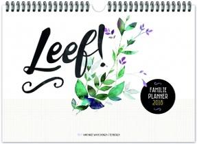 Leef! Familieplanner 2018
