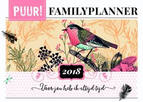 Puur! Familyplanner 2018