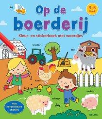 Kleur- En Stickerboek Met Woordjes - Op