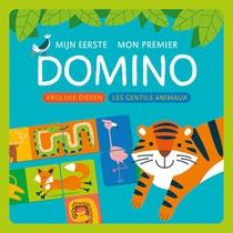 Mijn Eerste Domino - Vrolijke Dieren / M
