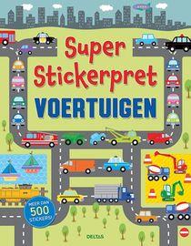 Super Stickerpret - Voertuigen