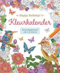Happy Birthday! Kleurkalender