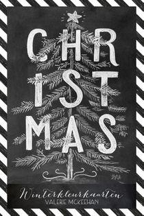Winterkleurkaarten Christmas