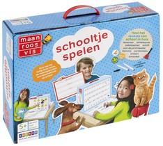 Maan Roos Vis Schooltje Spelen